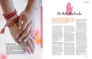 Artikel MIR-Methode, Happinez, nummer 6, 2013